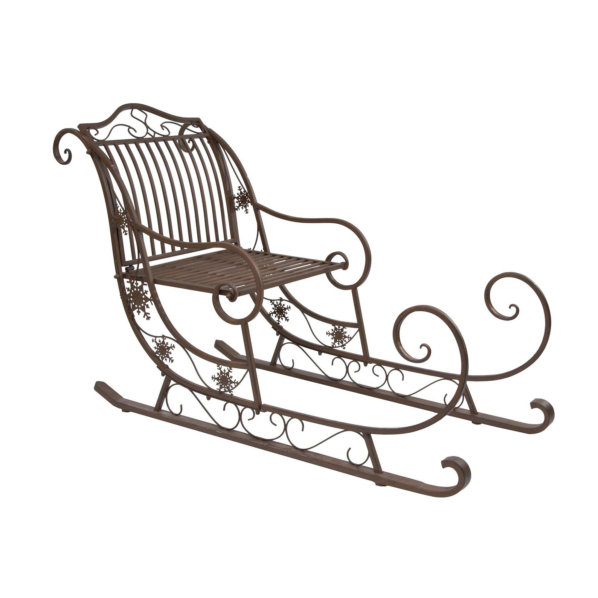 deko schlitten skadi braun jetzt bei bestellen. Black Bedroom Furniture Sets. Home Design Ideas