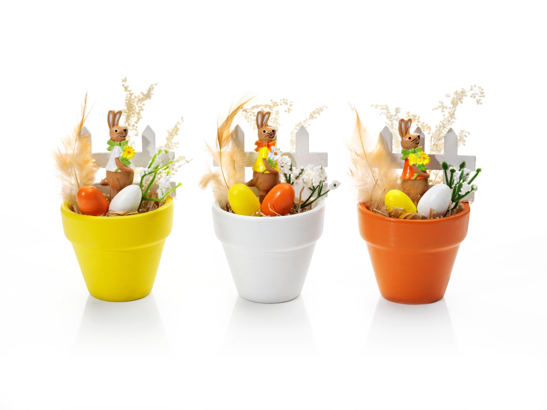 Deko Töpfchen Ostern 3er Set Jetzt Bei Weltbildde Bestellen