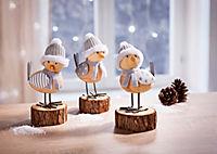 """Dekofiguren """"Wintervögel"""", 3er-Set - Produktdetailbild 1"""