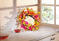 """Dekokranz """"Flowers"""" - Produktdetailbild 1"""