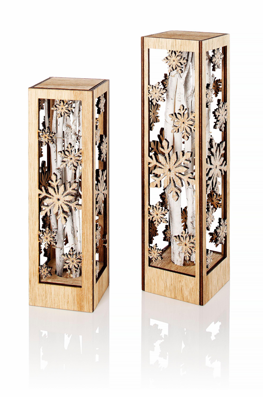 Holz Deko Säulen Selber Machen