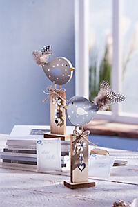 "Dekovögel ""Frida und Fips"", 2er Set - Produktdetailbild 1"