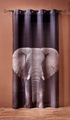 Dekovorhang Elefant