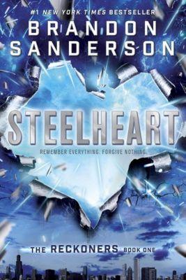 Delacorte Press: Steelheart, Brandon Sanderson