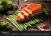 Delicious - Gourmet Food Calendar 2019 / UK-Version (Wall Calendar 2019 DIN A3 Landscape) - Produktdetailbild 1