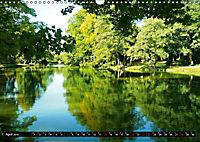 DELMENHORST - Graftanlage im Sonnenlicht (Wandkalender 2019 DIN A3 quer) - Produktdetailbild 4