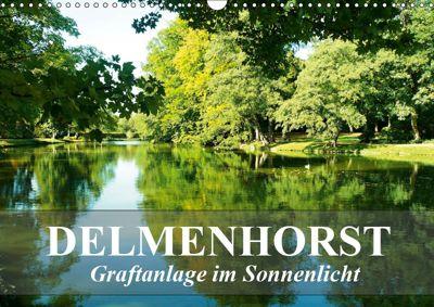 DELMENHORST - Graftanlage im Sonnenlicht (Wandkalender 2019 DIN A3 quer), Art-Motiva