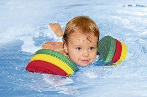Delphin Schwimmscheiben