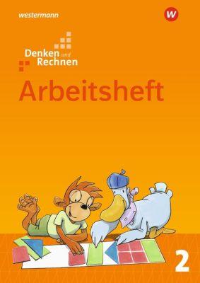 Denken und Rechnen, Allgemeine Ausgabe 2017: 2. Schuljahr, Arbeitsheft