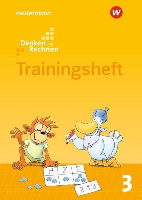 Denken und Rechnen, Allgemeine Ausgabe 2017: 3. Schuljahr, Trainingsheft