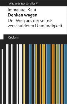 Denken wagen, Immanuel Kant