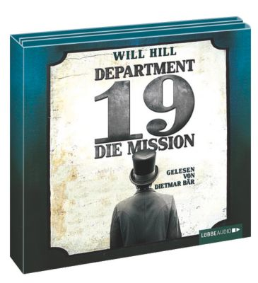 Department 19 Band 1: Die Mission (6 Audio-CDs), Will Hill