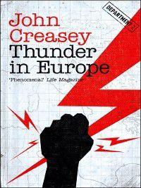Department Z: Thunder in Europe, John Creasey