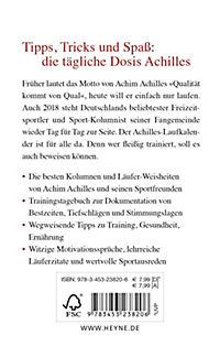 Der Achilles Laufkalender 2018 - Produktdetailbild 1