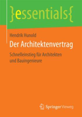Der Architektenvertrag, Hendrik Hunold