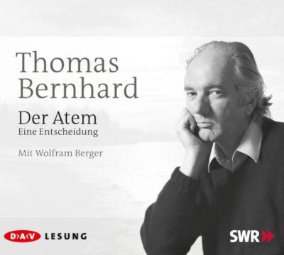 Der Atem, 3 Audio-CDs, Thomas Bernhard