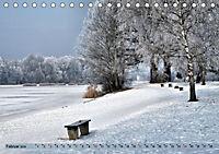 Der Augsburger Stadtwald - Ein Paradies für Naturfreunde (Tischkalender 2019 DIN A5 quer) - Produktdetailbild 2