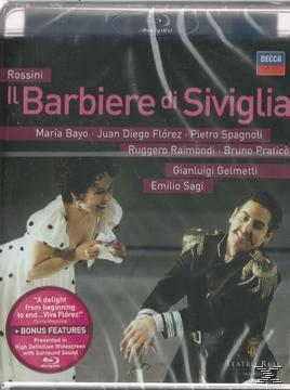 Der Barbier Von Sevilla (Blu-Ray), Maria Bayo, Juan Diego Flórez, Ruggero Raimondi