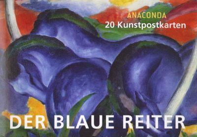 Der Blaue Reiter, Postkartenbuch