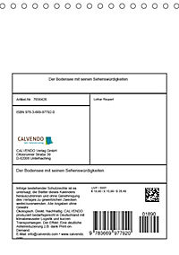 Der Bodensee mit seinen Sehenswürdigkeiten (Tischkalender 2019 DIN A5 hoch) - Produktdetailbild 13
