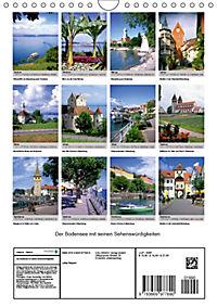 Der Bodensee mit seinen Sehenswürdigkeiten (Wandkalender 2019 DIN A4 hoch) - Produktdetailbild 13