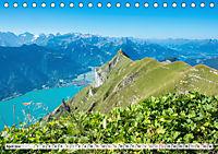 Der Brienzersee - Im Herzen des Berner OberlandesCH-Version (Tischkalender 2019 DIN A5 quer) - Produktdetailbild 4