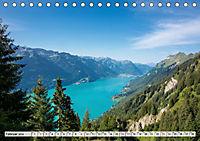 Der Brienzersee - Im Herzen des Berner OberlandesCH-Version (Tischkalender 2019 DIN A5 quer) - Produktdetailbild 2