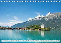 Der Brienzersee - Im Herzen des Berner OberlandesCH-Version (Tischkalender 2019 DIN A5 quer) - Produktdetailbild 9