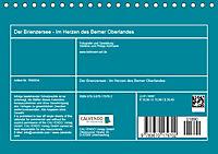 Der Brienzersee - Im Herzen des Berner OberlandesCH-Version (Tischkalender 2019 DIN A5 quer) - Produktdetailbild 13