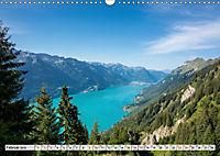 Der Brienzersee - Im Herzen des Berner OberlandesCH-Version (Wandkalender 2019 DIN A3 quer) - Produktdetailbild 2