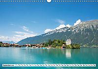 Der Brienzersee - Im Herzen des Berner OberlandesCH-Version (Wandkalender 2019 DIN A3 quer) - Produktdetailbild 9