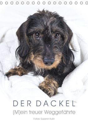 Der Dackel (M)ein treuer Weggefährte (Tischkalender 2019 DIN A5 hoch), Susann Kuhr