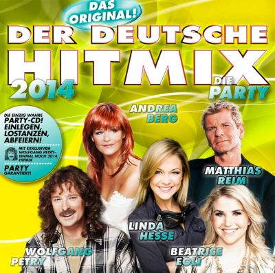 Der deutsche Hitmix - die Party 2014, Various