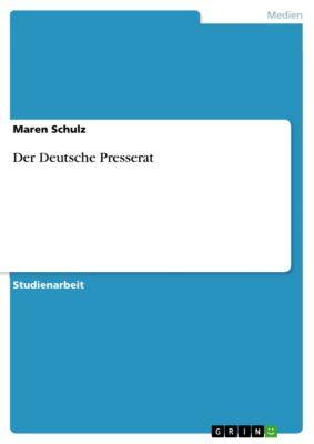 Der Deutsche Presserat, Maren Schulz