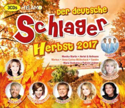 Der deutsche Schlager Herbst 2017, Diverse Interpreten