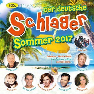 Der deutsche Schlager Sommer 2017, Diverse Interpreten