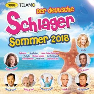 Der deutsche Schlager Sommer 2018, Diverse Interpreten