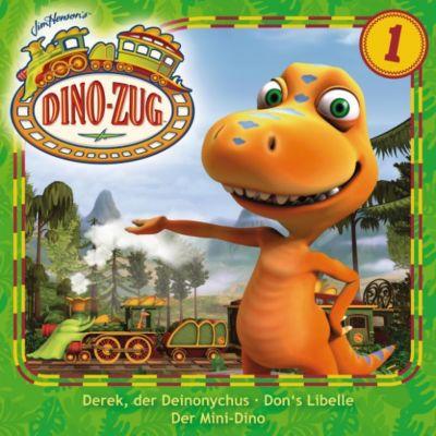 Der Dino-Zug: Der Dino-Zug - 01: Derek, der Deinonychus / Don's Libelle / Der Mini-Dino