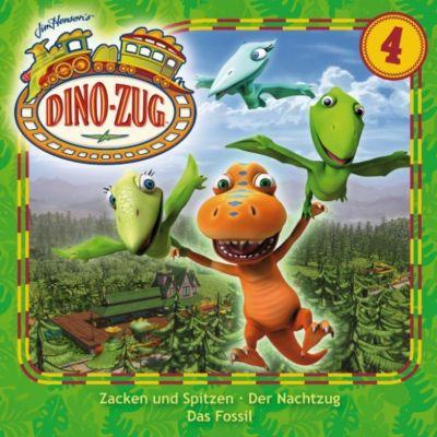 Der Dino-Zug: Der Dino-Zug - 04: Zacken und Spitzen / Der Nachtzug / Das Fossil