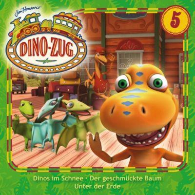 Der Dino-Zug: Der Dino-Zug - 05: Dinos im Schnee / Der geschmückte Baum / Unter der Erde