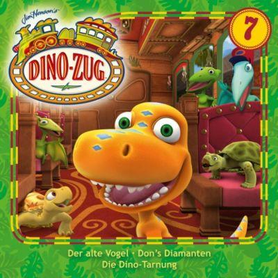 Der Dino-Zug: Der Dino-Zug - 07: Der alte Vogel / Don's Diamanten / Die Dino-Tarnung