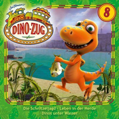 Der Dino-Zug: Der Dino-Zug - 08: Die Schnitzeljagd / Leben in der Herde / Dinos unter Wasser
