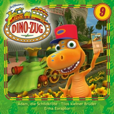 Der Dino-Zug: Der Dino-Zug - 09: Adam, die Schildkröte / Tilos kleiner Bruder /  Erma Eoraptor