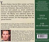 Der Doktor und das liebe Vieh, Audio-CDs: T.6 Monty wird zum Stier, 2 Audio-CDs - Produktdetailbild 1