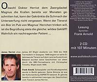 Der Doktor und das liebe Vieh, Audio-CDs: Tl.8 Nachtragende Patienten, 2 Audio-CDs - Produktdetailbild 1