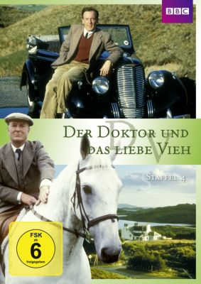 Der Doktor und das liebe Vieh - Staffel 4, James Herriot, Johnny Byrne, Brian Finch, Anthony Steven, Roger Davenport, Michael Russell, Terence Dudley, William Humble, Alfred Shaughnessy