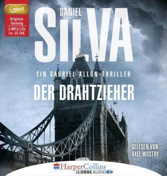 Der Drahtzieher, 2 MP3-CDs, Daniel Silva