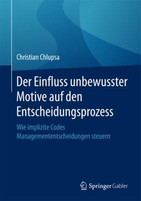 Der Einfluss unbewusster Motive auf den Entscheidungsprozess, Christian Chlupsa