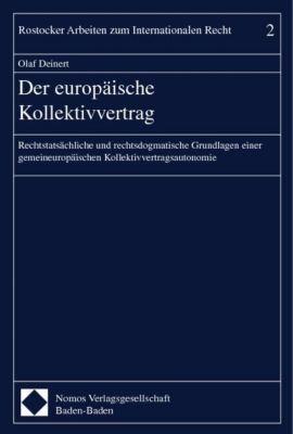 Der europäische Kollektivvertrag, Olaf Deinert