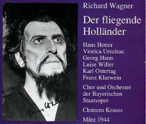 Der Fliegender Holländer, Krauss, Bayer.Staatsoper